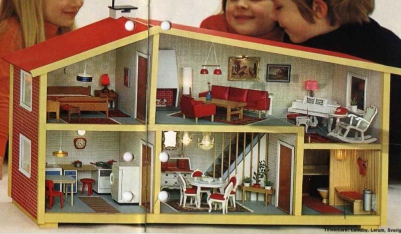 Lundby doll house 1970