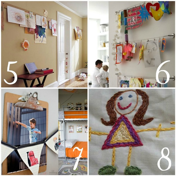 decorating with children's art2