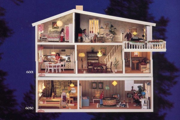 my lundby doll house 1985