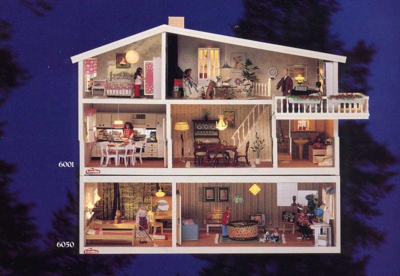 my lundby doll house 1985