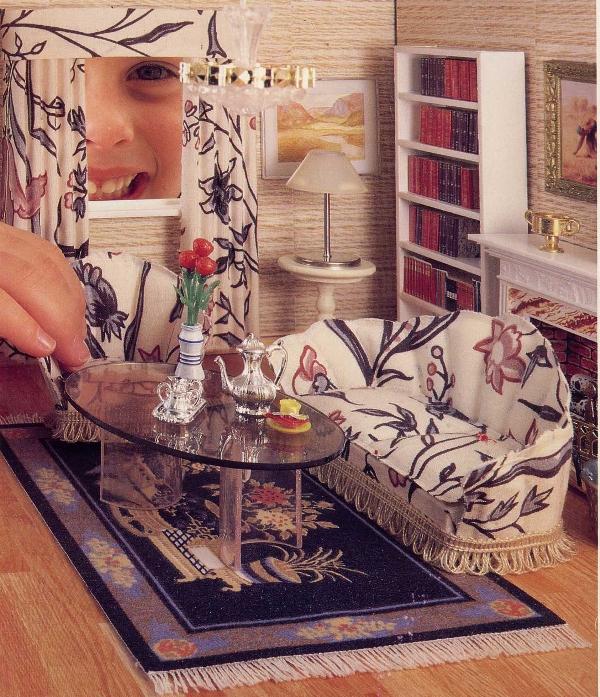 my lundby doll house sitting room 1985