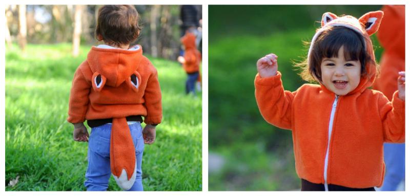 fox handmade costume