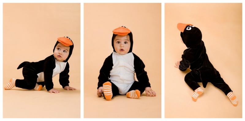 handmade pingwin costume