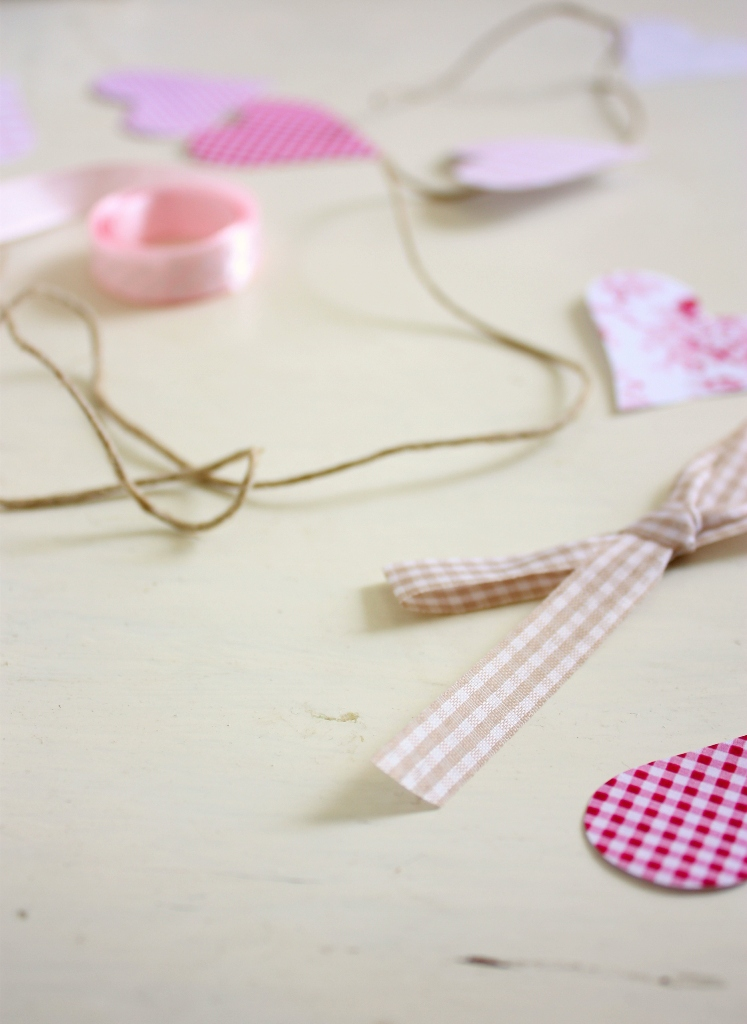 paper heart mobile8
