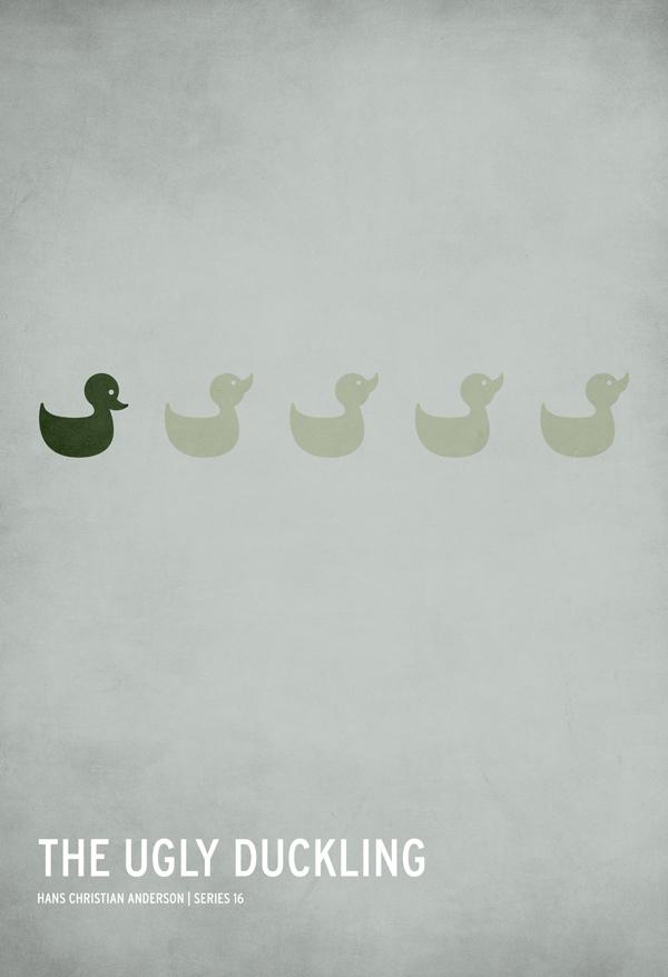 minimalistic fairy tales posters