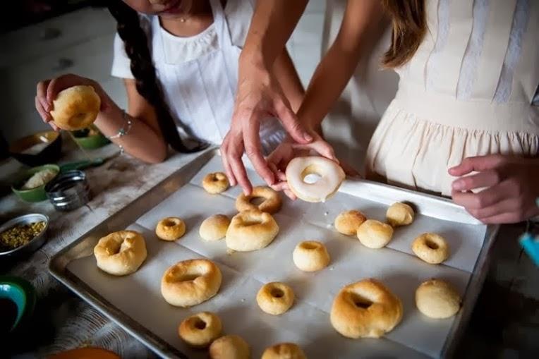 healthy doughnuts mom & me hannukah