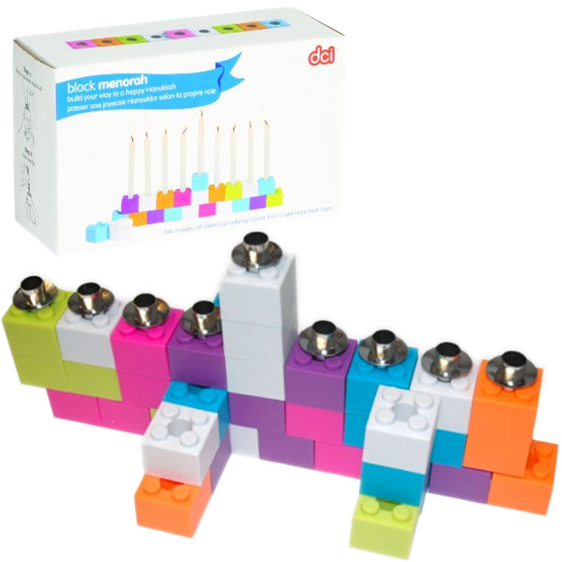 DCI gifts block menorah