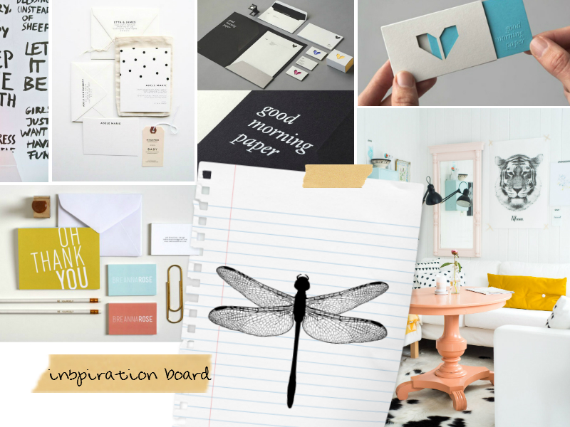branding cafeveyafe inspiration board