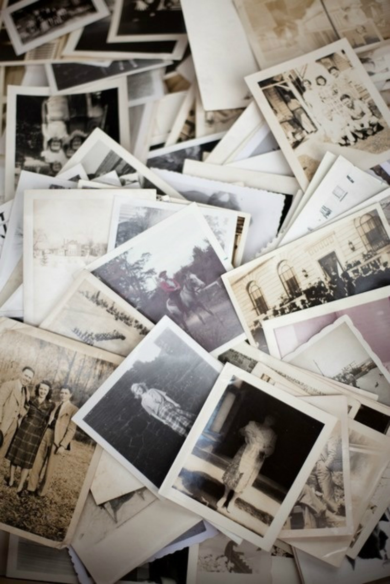 old balch and white photographs