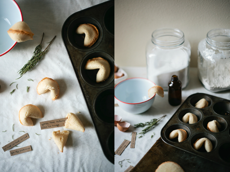Making FORTUNE COOKIES