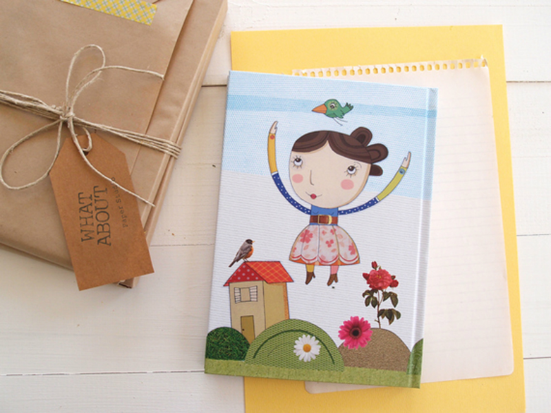 illustrated notebook