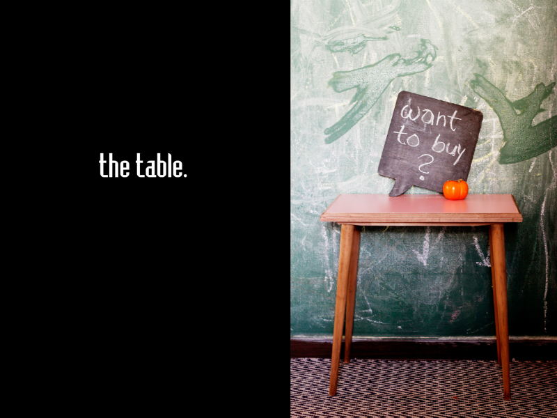 fifties table