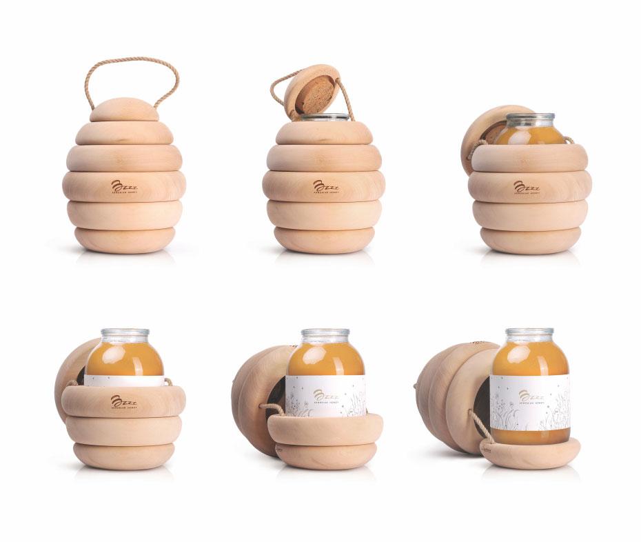 bzzz packaging honey