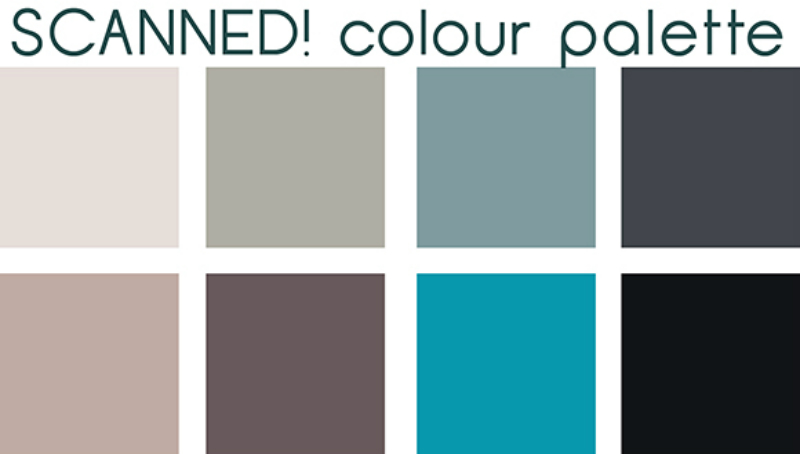 mood board and colour trends