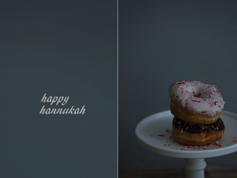 hannukah donoughts