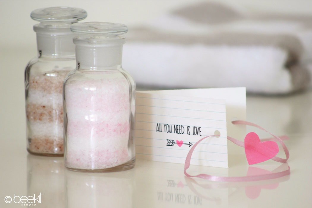 bath salts bottles favor free printables valentine day