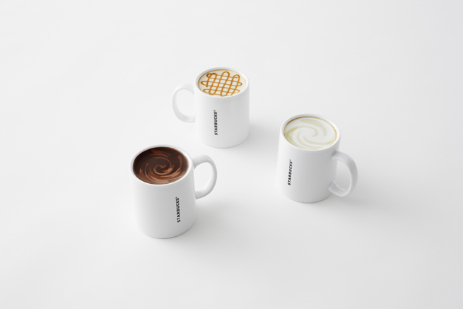 nendo mugs for starbucks