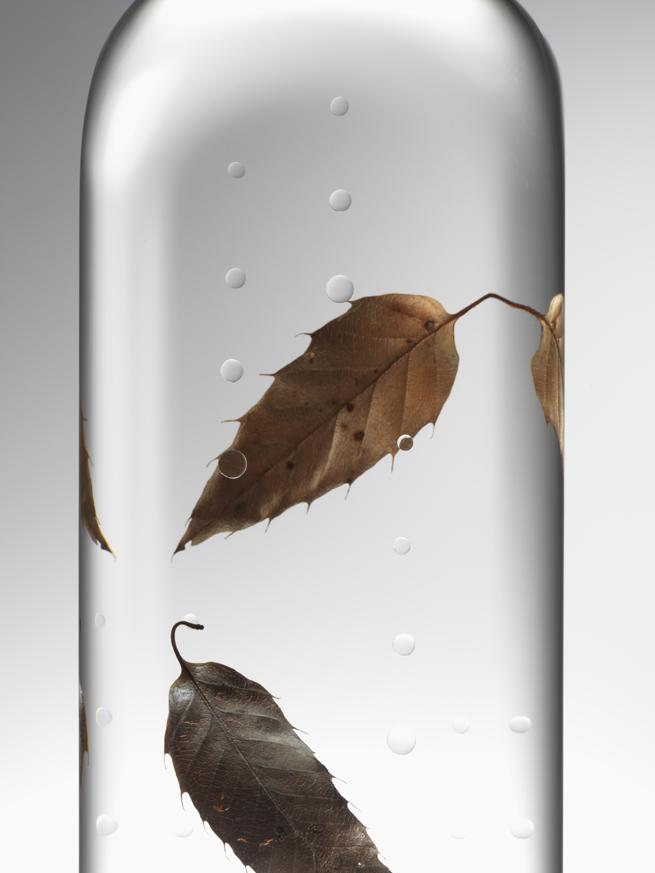 nendo rain bottles