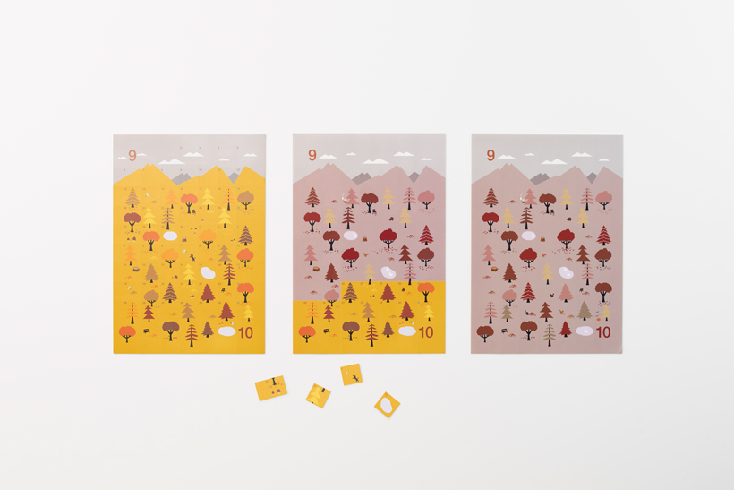 nendo sticker calendar