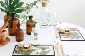 ארוח: שולחן עלים ירוק לשבועות