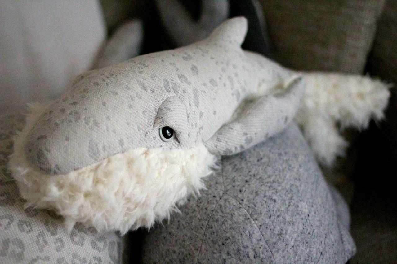 big stuffed whale etsy