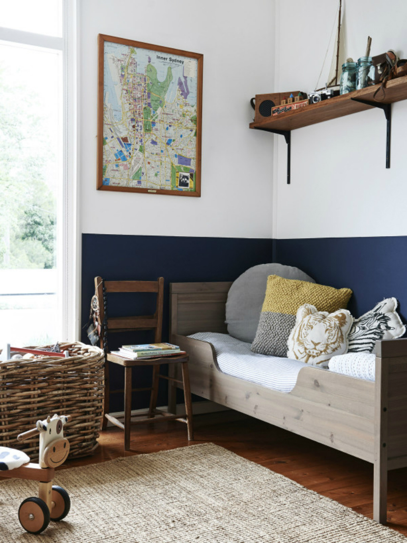 color block wall painting trend