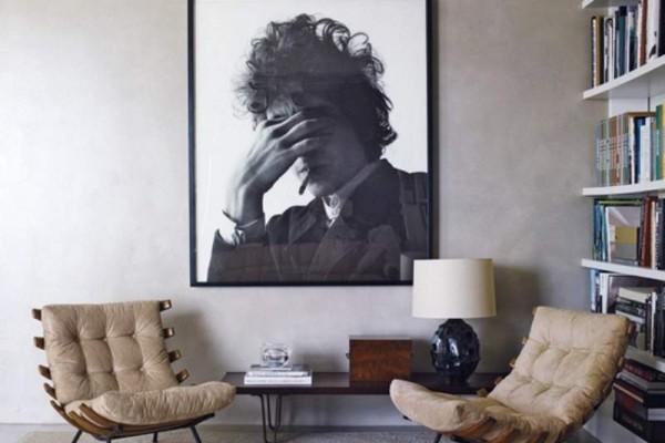 Bob Dylan oversize art