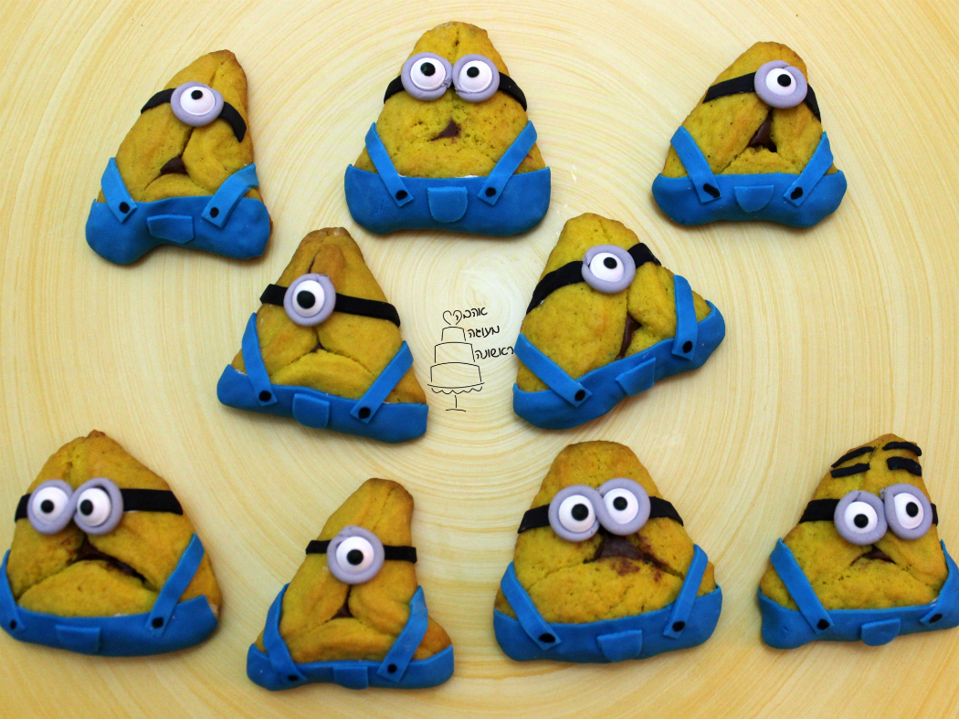 mishloach manot competition diy create purim haman taschen minions