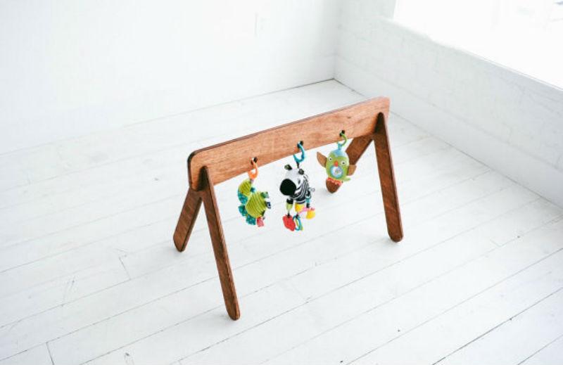 baby wooden jym
