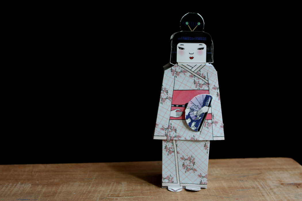 paper cat folding paper national dolls to create with kids