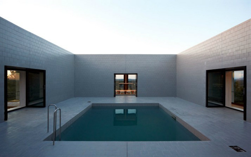 modernist pool design