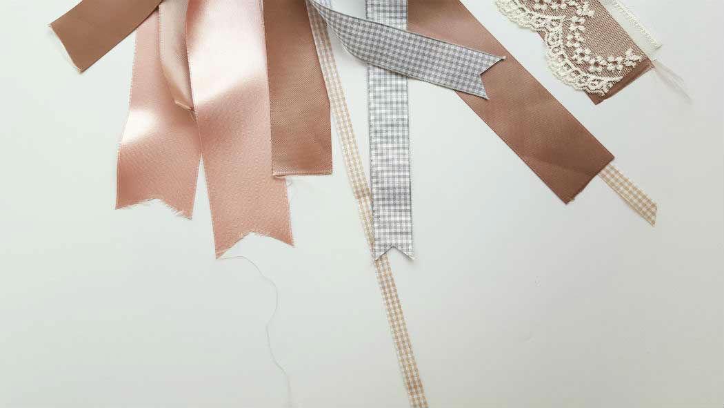 ribbons decorated tambourine for tu be av hholiday