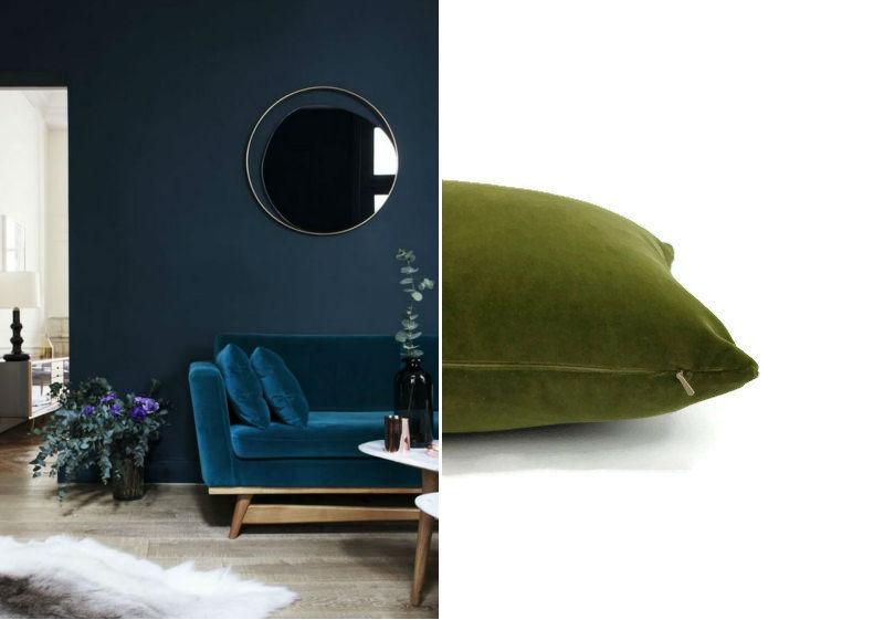 blue velvet chairs pink blush velvet pillow cover bdeep blue velvet sofa
