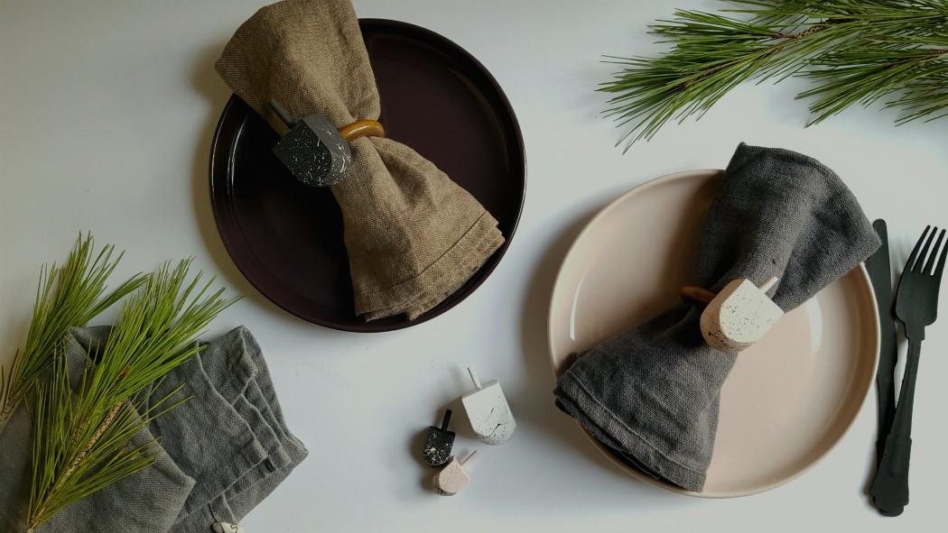 hostess dreidle diy napkin holder for hannukah