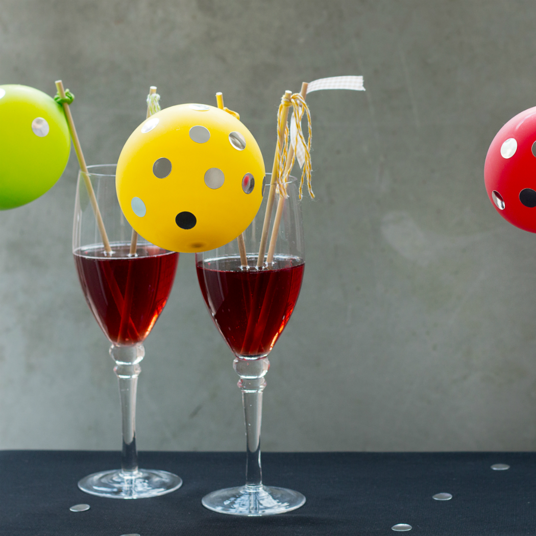 diy party cocktail swizzle sticks