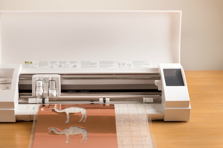 cameo silhouette electronic cutting machine