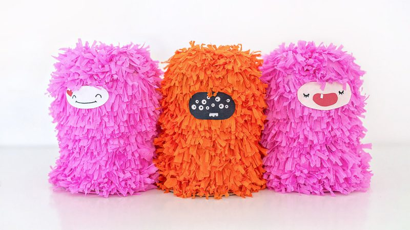 Piñata monster diy purim mishloach manot craft (5)