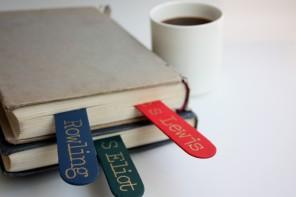 DIY: סימניות במראה ספרותי