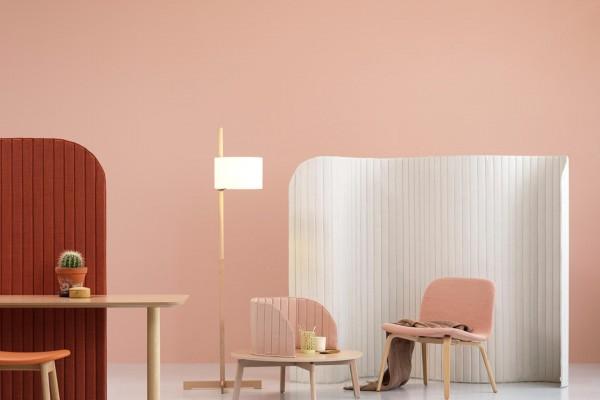 pink and orange interior desing trend note design studio