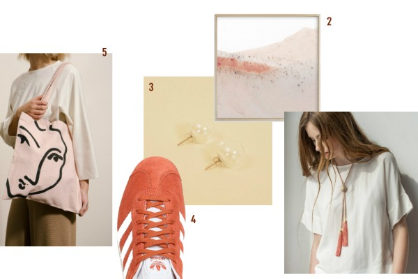 gifts for autumn in orange and rust