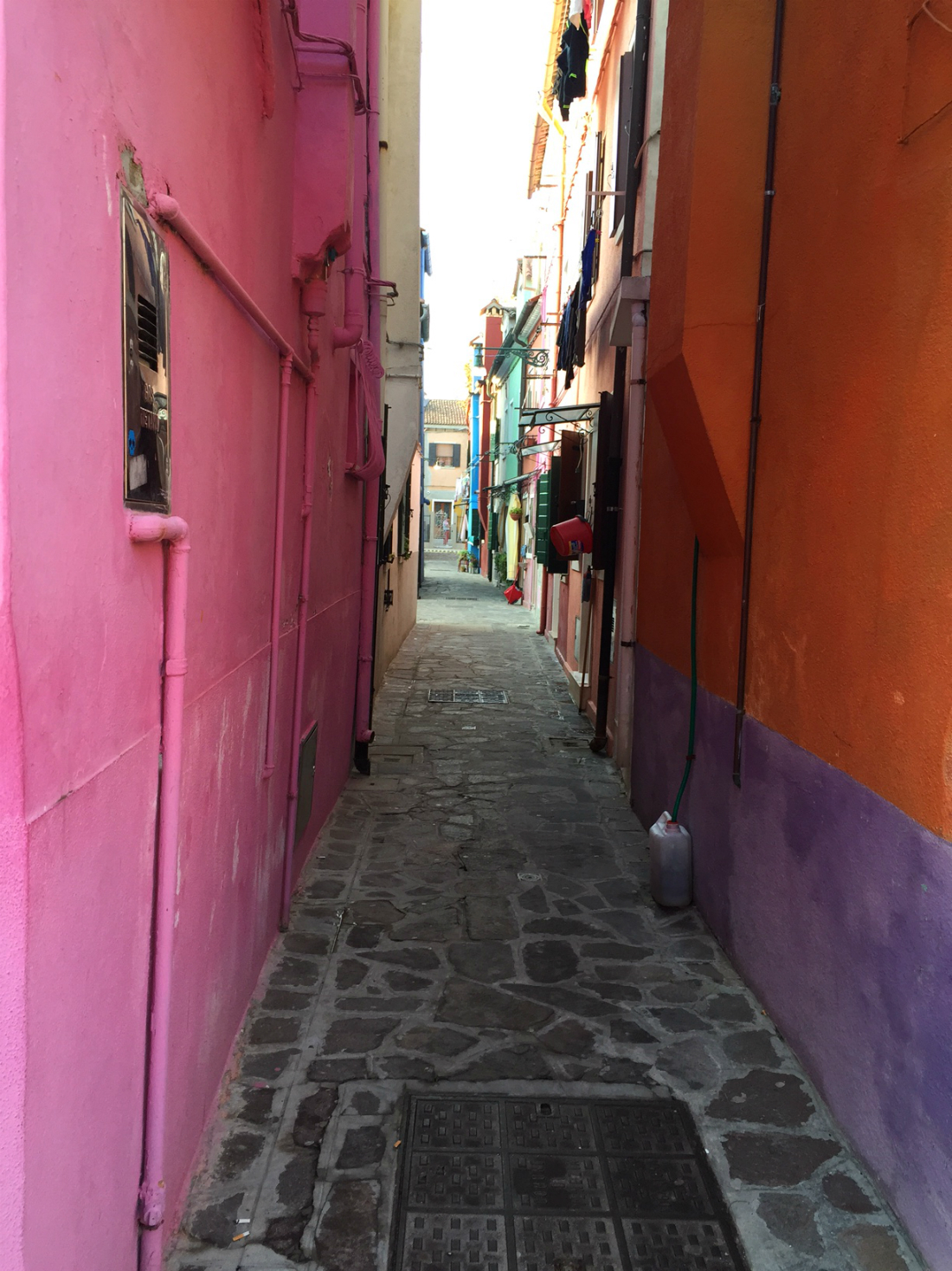 burano italy color block ally