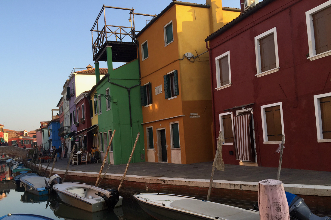 burano venice's island italy colorful houses
