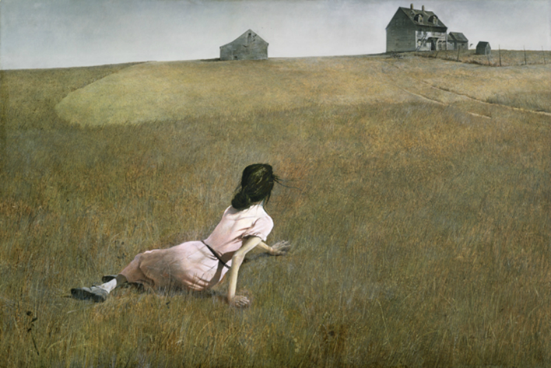 Christinas world art by andrew Wyeth