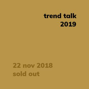 trend talk 2019 sold out
