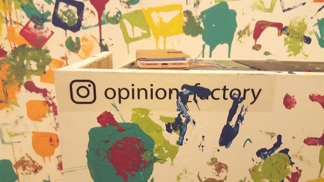 opinion factory installation jerussalem design week 2019