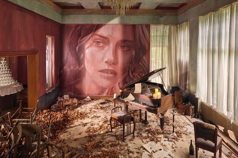 street artist rone transforms art deco mention in melbourne