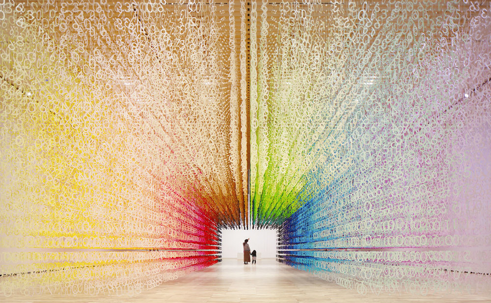 emmanuelle_moureaux_color_of_time numbers and colors installation