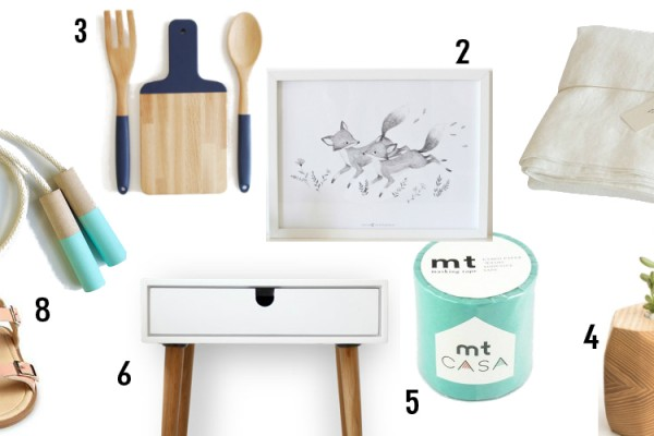 spring gift guide collage