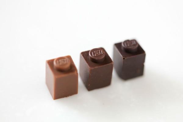 chocolate lego