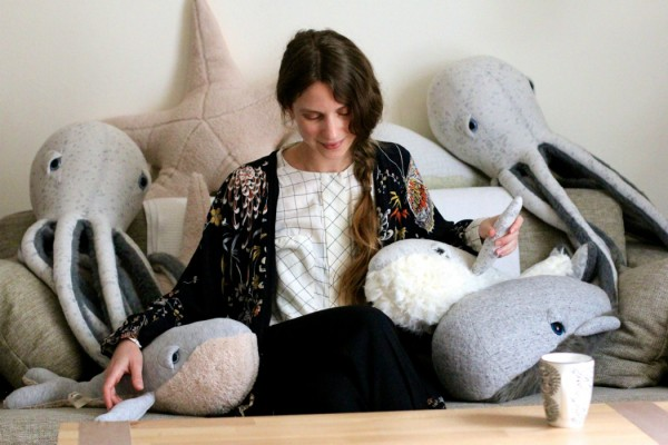 big stuffed whale etsy dana muskat
